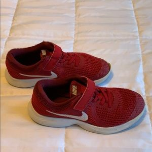 Nike Red shoes size 3